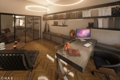 ORIENTAL-HOME-OFFICE #1  | project: ARCHAS Design (www.archas.pl)