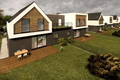 HOUSES ON GRASSLAND #3 | project: Studio Projektowe Jakub Gałęski  (www.galeski.com.pl)
