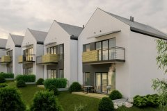 TERRACED-HOUSES  | project: ARCHAS Design  (www.archas.pl)